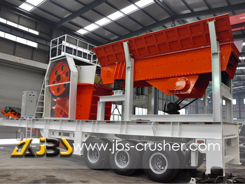 Mobile crusher,Mobile crushers,Mobile crushing station,Portable crusher,China mobile crushers-Shandong Jinbaoshan Machinery