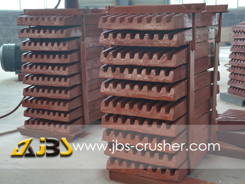 High Manganese Steel Jaw Plate